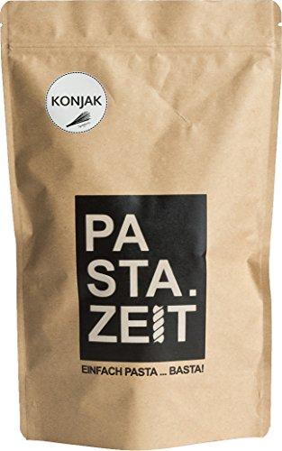 Pastazeit Bio Konjak Spaghetti, No Carb Nudeln, Glutenfrei, Low Carb, Kein Fett, kalorienarme Nudeln nur 9 kcal, Vegan, kohlenhydratfrei, Shirataki (3x400g)