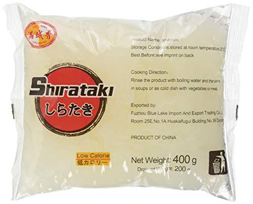 City Aroma Nudeln Shirataki dünn, 5er Pack (5 x 400 g)