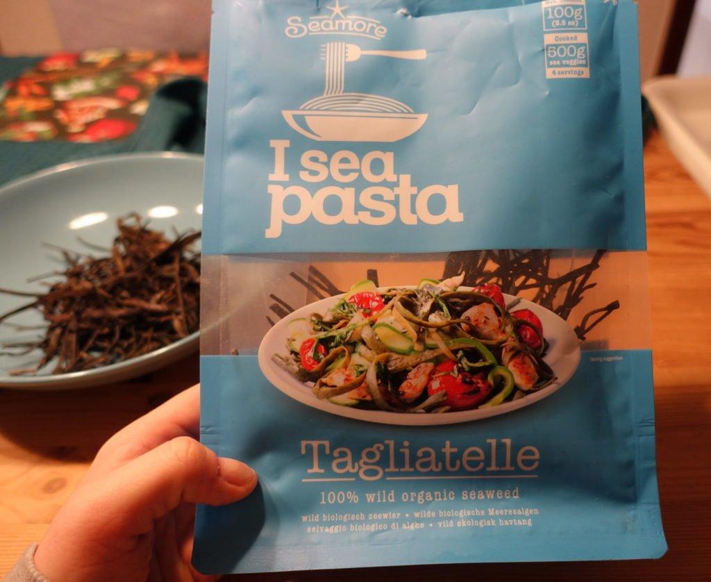 Seamore Bio Algennudeln I Sea Pasta Tagliatelle