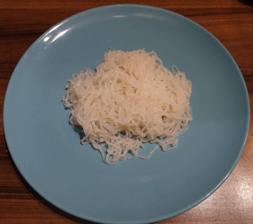 Konjak Nudeln große Portion eine Packung